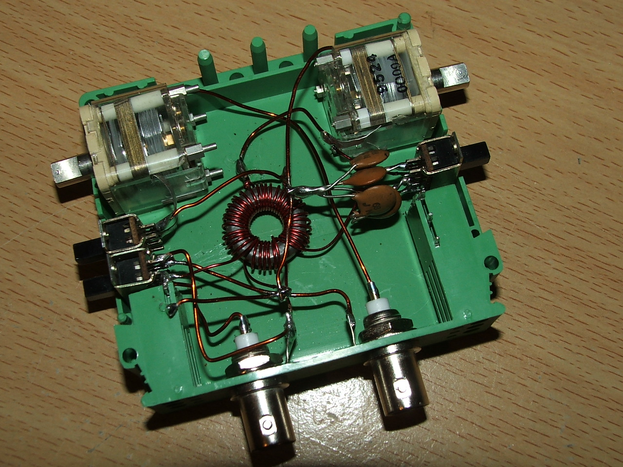 A simple 10W QRP Z-match antenna tuner 80 - 6 meters